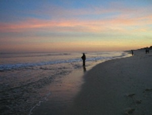 Surf fishing can be like that certain tides times for Cape may fishing report